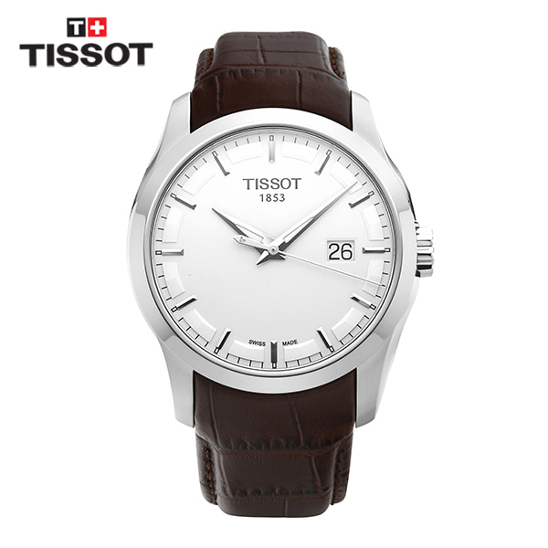 [티쏘시계 TISSOT] T035.410.16.031.00 (T0354101603100) 꾸뜨리에 Decorating the drop 40mm