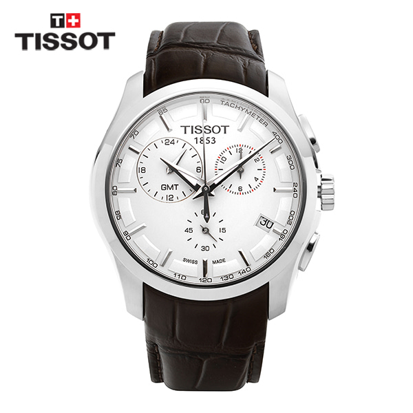 [티쏘시계 TISSOT] T035.439.16.031.00 (T0354391603100) 꾸뜨리에 Decorating the drop 41mm