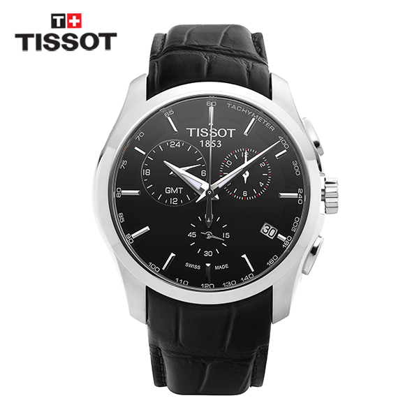 [티쏘시계 TISSOT] T035.439.16.051.00 (T0354391605100) 꾸뜨리에 Decorating the drop 41mm