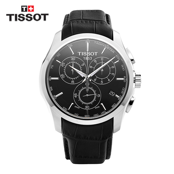 [티쏘시계 TISSOT] T035.617.16.051.00 (T0356171605100) 꾸뜨리에 Decorating the drop 41mm