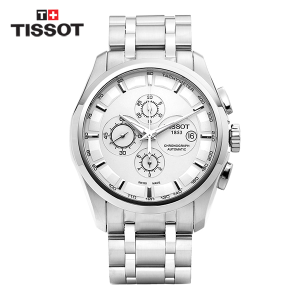 [티쏘시계 TISSOT] T035.627.11.031.00 (T0356271103100) 꾸뜨리에 Decorating the drop 43mm