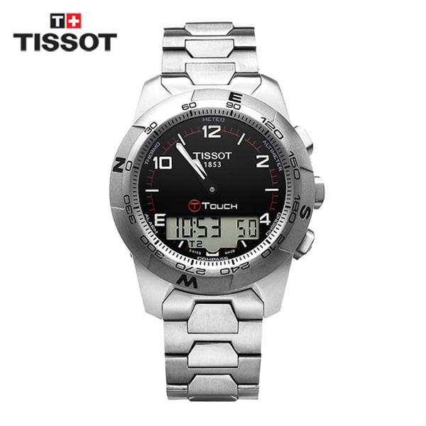 [티쏘 TISSOT] T047.420.44.057.00(T0474204405700) / 티터치 T-Touch II Altimeter 티타늄 시계43mm