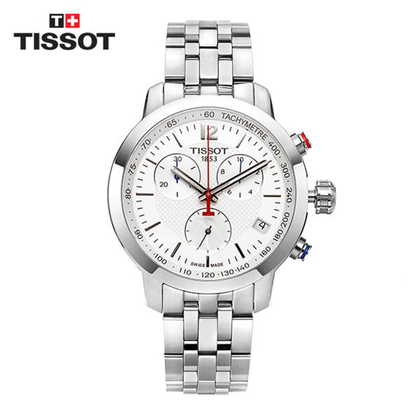 (화이트데이) [티쏘 TISSOT] T055.417.11.017.01 (T0554171101701) PRC200 Chronograph GENT NBA 42mm