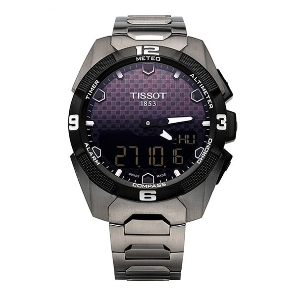 [티쏘시계 TISSOT] T091.420.44.051.00 (T0914204405100) T-TOUCH EXPERT SOLAR 티타늄 시계 45mm