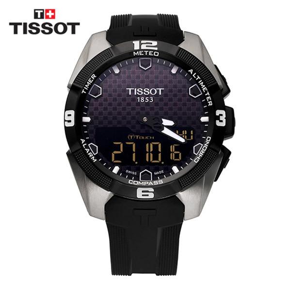 [티쏘시계 TISSOT] T091.420.47.051.00 (T0914204705100) T-TOUCH EXPERT SOLAR 티타늄 시계 45mm