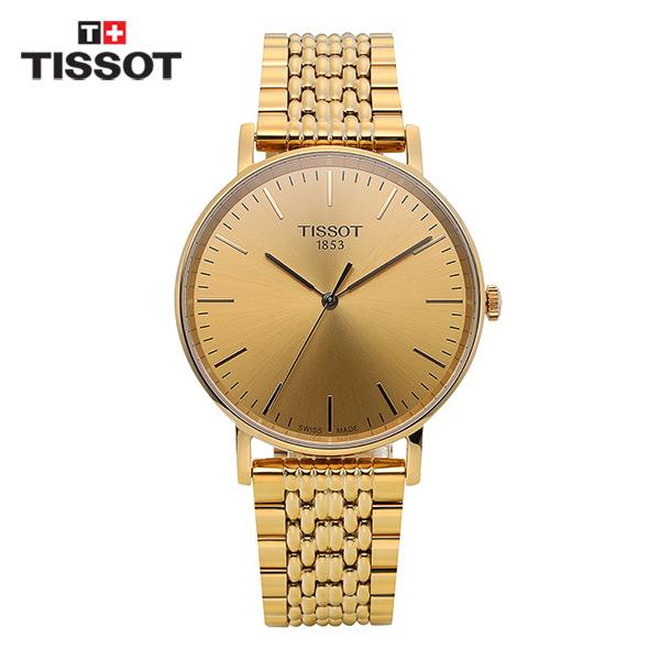 [티쏘시계 TISSOT] T109.410.33.021.00 (T1094103302100) T-Classic Everytime Gold 38mm