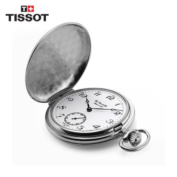 [티쏘시계 TISSOT] T83.6.402.12 (T83640212) SAVONNETTE 회중시계 50mm