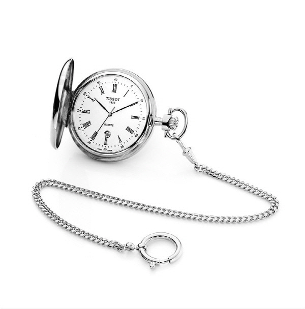 [티쏘 TISSOT] T83.6.553.13 (T83655313) 회중시계 48mm