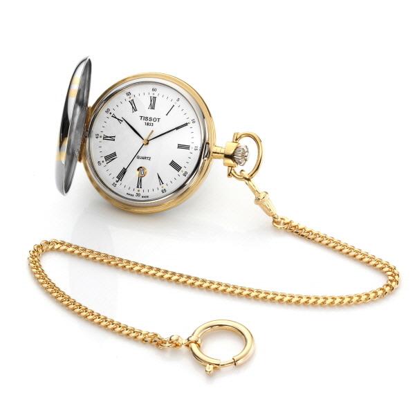 [티쏘시계 TISSOT] T83.8.553.13 (T83855313) SAVONNETTE QUARTZ 48.5mm