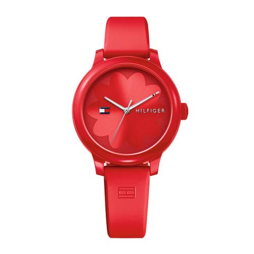 [타미힐필거 TOMMY HILFIGER] 1781776_ASHLEY 여성용 실리콘 시계 [Red / Red] 38mm [자스페로코리아정품]