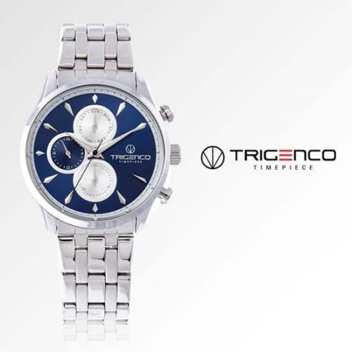 [트리젠코시계 TRIGENCO] TG-0300M-BU 멀티펑션 남성용 메탈시계 43mm