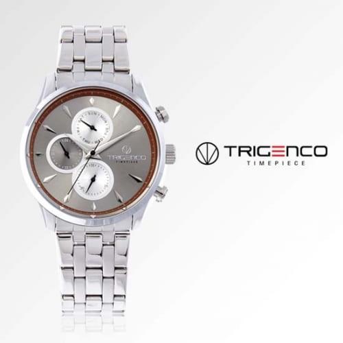 [트리젠코시계 TRIGENCO] TG-0300M-GR 멀티펑션 남성용 메탈시계 43mm