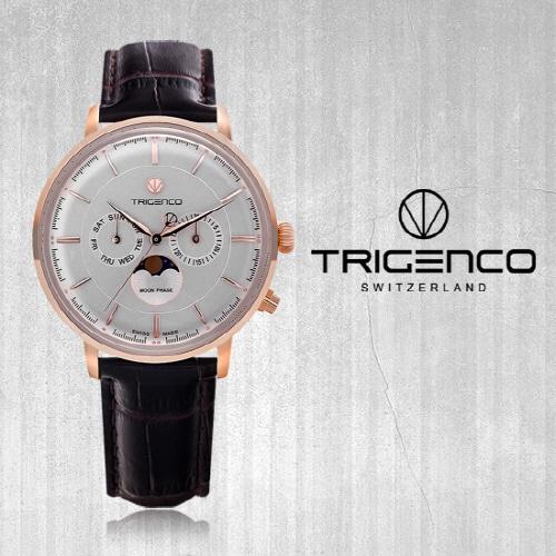 [트리젠코시계 TRIGENCO] TG-1000L-RG/BR Zivil(지빌) /SWITZERLAND