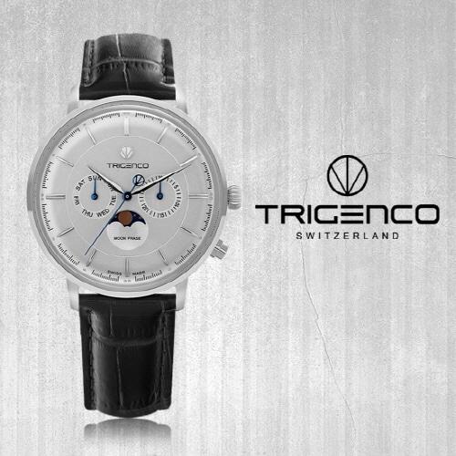 [트리젠코시계 TRIGENCO] TG-1000L-WH/BK Zivil(지빌) SWITZERD 42mm