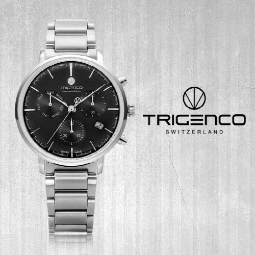 [트리젠코시계 TRIGENCO] TG-3000-WBK Zeitmesser(자이트메써) SWITZERLAND 42mm