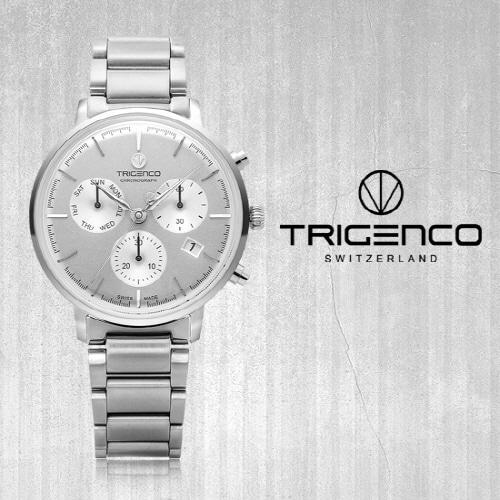 [트리젠코시계 TRIGENCO] TG-3000-WH Zeitmesser(자이트메써) SWITZERLAND 42mm