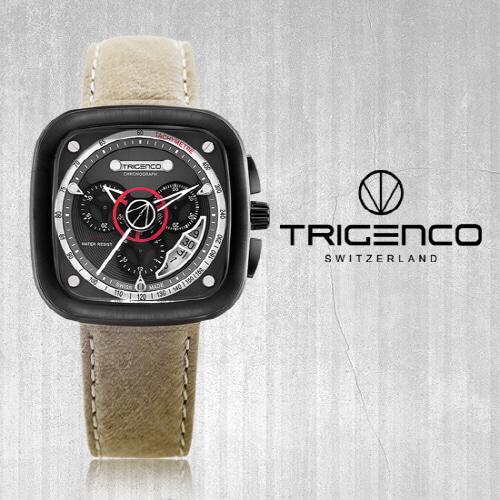[트리젠코시계 TRIGENCO] TG-5000L-BK/IV Forsch(포르쉬) SWITZERD 43mm
