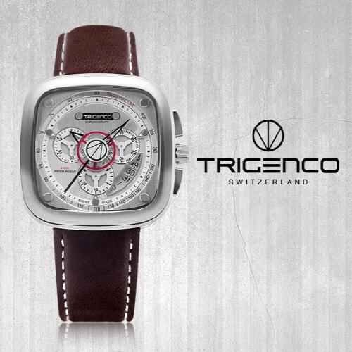 [트리젠코시계 TRIGENCO] TG-5000L-WH/BR Forsch(포르쉬) /SWITZERLAND