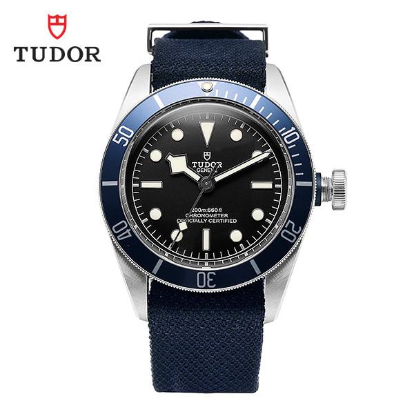 [튜더 TUDOR] M79230B-0006 / 헤리티지 블랙베이 크로노 41 칼리버 남성용 나토밴드 시계 41mm 타임메카