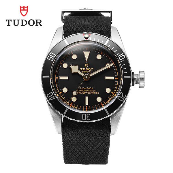[튜더 TUDOR] M79230N-0005 / 헤리티지 블랙베이 크로노 41 칼리버 남성용 나토밴드 시계 41mm 타임메카