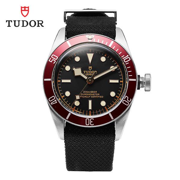 [튜더 TUDOR] M79230R-0010 / 헤리티지 블랙베이 크로노 41 칼리버 남성용 나토밴드 시계 41mm 타임메카