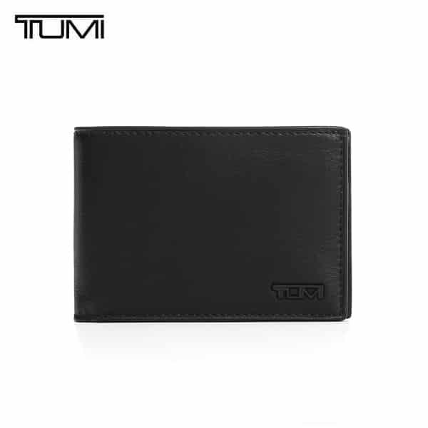 ☆-) [투미 TUMI] 118631D-ID (0118631D-ID) Delta Slim Single Billfold Wallet (Black) / 델타 슬림 싱글 빌폴드 지갑