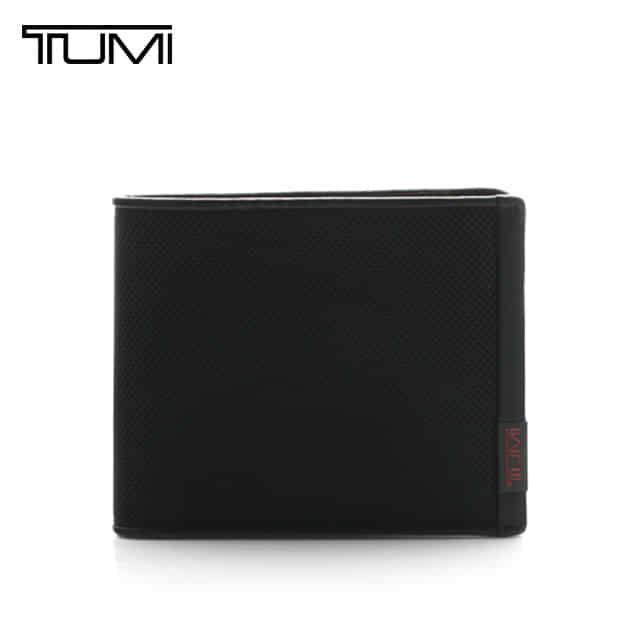 얼마줬스-) [투미 TUMI] 19235D (019235D) Alpha Removable / 투미 알파 리무버블 8cc 2뷰포켓 지갑