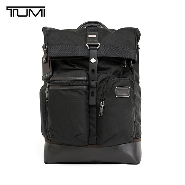 [투미 TUMI] 222388HK2 (0222388HK2) ALPHA Bravo Luke Roll Top Backpack / 알파 브라보 루크 롤탑 백팩