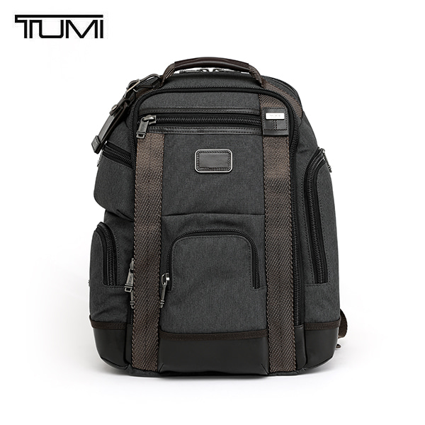 [투미 TUMI] 222389AT2 (0222389AT2) ALPHA BRAVO Shaw Deluxe Brief Pack (Anthracite) 222389 / 알파 브라보 쇼 디럭스 브리프 백팩