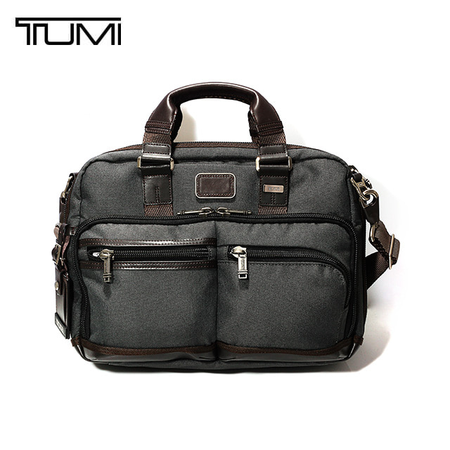 [투미 TUMI] 222640AT2 (0222640AT2) ALPHA BRAVO Andersen Slim Commuter Brief (Anthracite) 222640 / 투미 안데르센 슬림 커뮤터 브리프