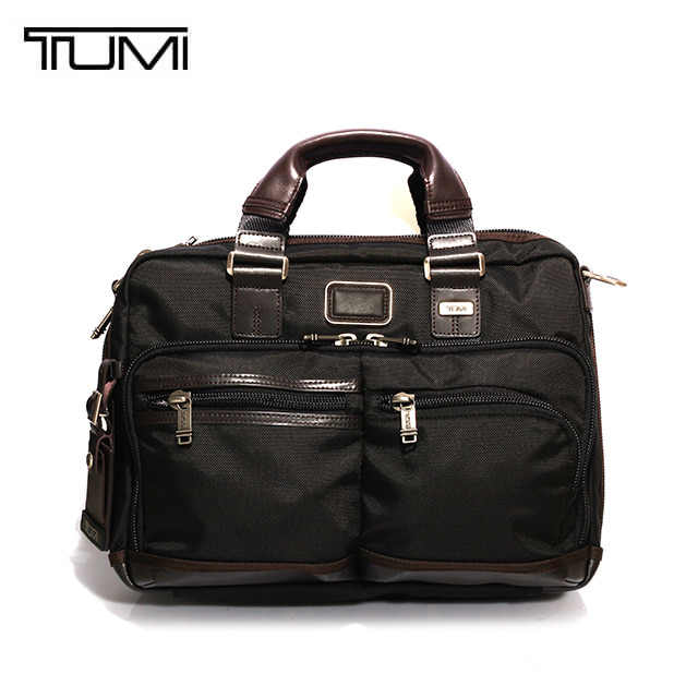 [투미 TUMI] 222640HK2 (0222640HK2) Alpha Bravo (Hickory) ANDERSEN SLIM COMMUTER BRIEF/ 투미 안데르센 슬림 커뮤터 브리프
