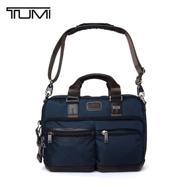 [투미 TUMI] 222640NVY2 (0222640NVY2) ALPHA BRAVO Andersen Slim Commuter Brief (Navy) 222640 / 투미 안데르센 슬림 커뮤터 브리프