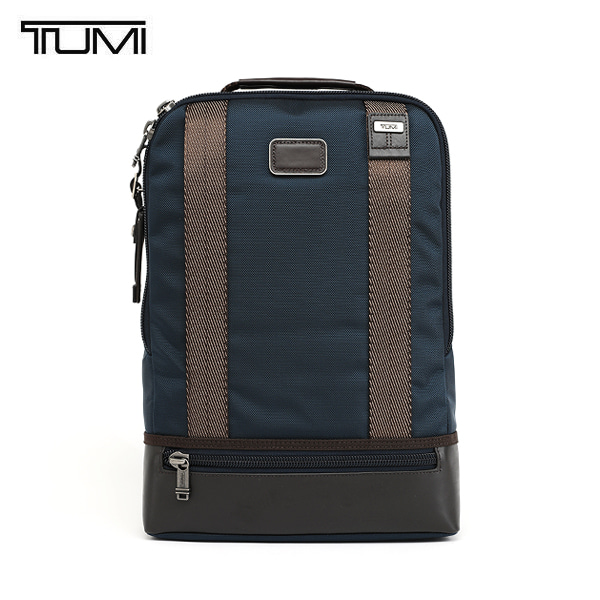 [투미 TUMI] 222682NVY2 (0222682NVY2) ALPHA BRAVO Dover Backpack (Navy) 222682