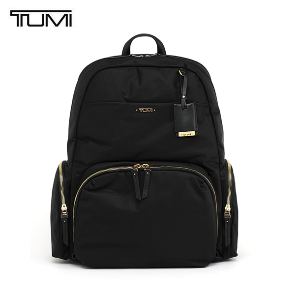 [투미 TUMI] 484707D (0484707D) VOYAGEUR Calais Backpack (Black) 484707 / 보야져 칼라이스 백팩