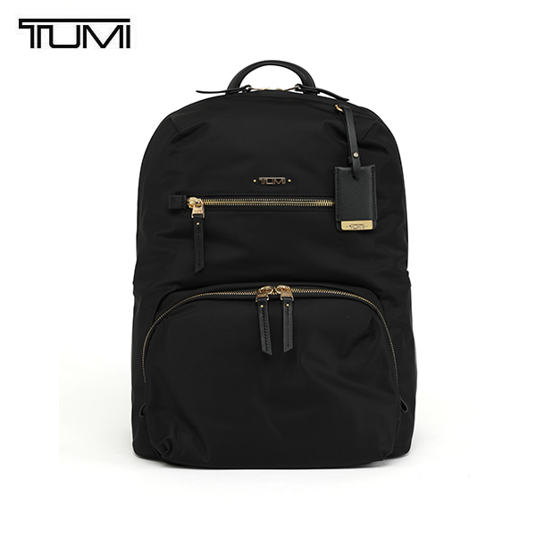 [투미 TUMI] 484758D (0484758D) VOYAGEUR Halle Backpack (Black) 484758 / 보야져 할레 백팩