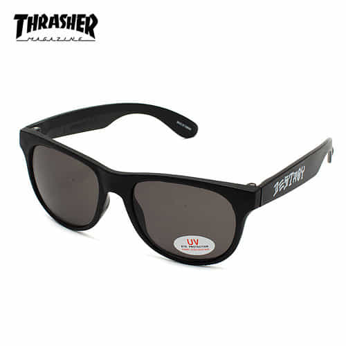 [트래셔 Thrasher] 3138068-BLK 선글라스 Skate And Destroy Sunglasses