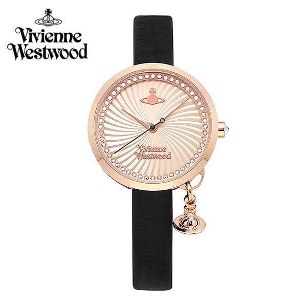 [비비안웨스트우드시계] VV139RSBK 여성용 가죽시계 31mm 타임메카