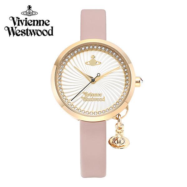 [비비안웨스트우드시계] VV139WHPK 여성용 가죽시계 31mm타임메카