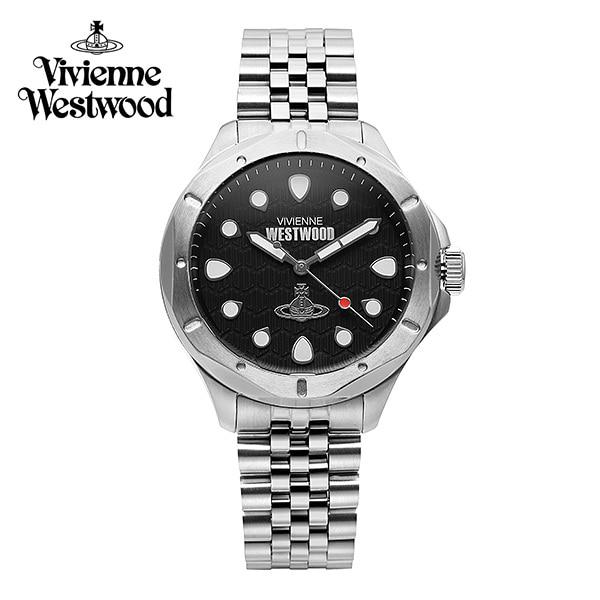 [비비안웨스트우드시계 VIVIENNEWESTWOOD] VV219SL 블랙월 Blackwall 남녀공용 메탈시계 40mm 타임메카