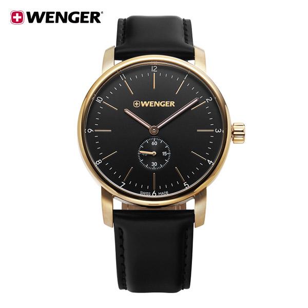 [웽거 WENGER] 01.1741.101 스위스 정식수입 본사정품 가죽 시계 42mm