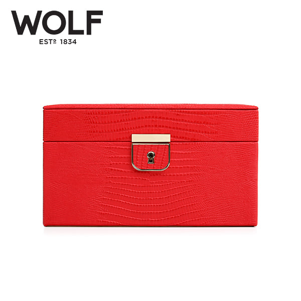 [울프 WOLF] 213193 (Palermo Small Box Coral) / 보석함 Jewel Box
