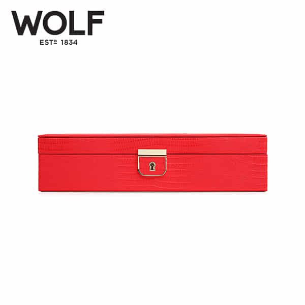 [울프 WOLF] 213293 (Palermo Medium Box Coral) / 보석함 Jewel Box