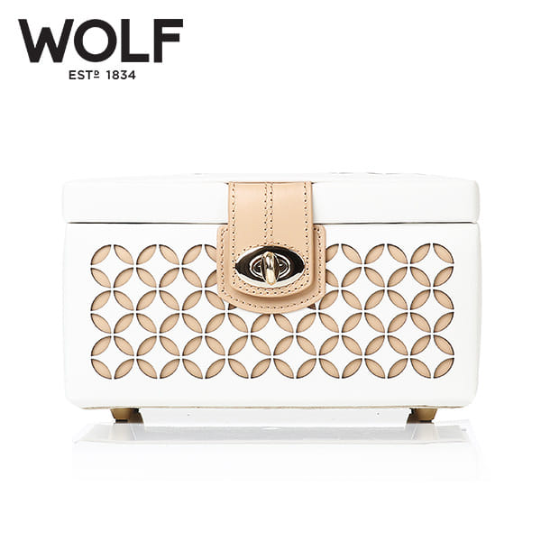 [울프 WOLF] 301153 (Chloe Small Box Cream) / 보석함 Jewel Box