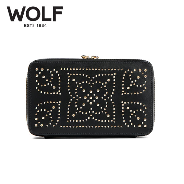[울프 WOLF] 308602 / 보석함 Marrakesh Zip Case Black 타임메카