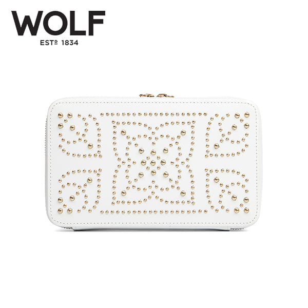 [울프 WOLF] 308653 / 보석함 Marrakesh Zip Case Cream 타임메카