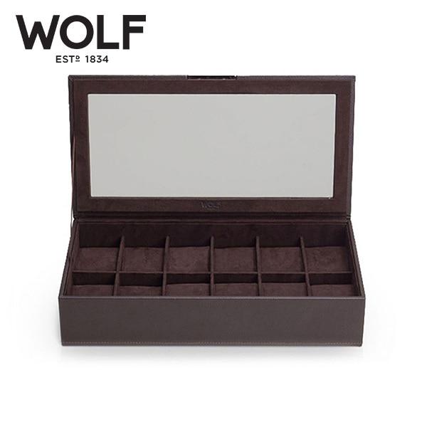 [울프 WOLF] 309806 / 시계보관함 12구 Stackable Watch Trays 12pc with lid 타임메카