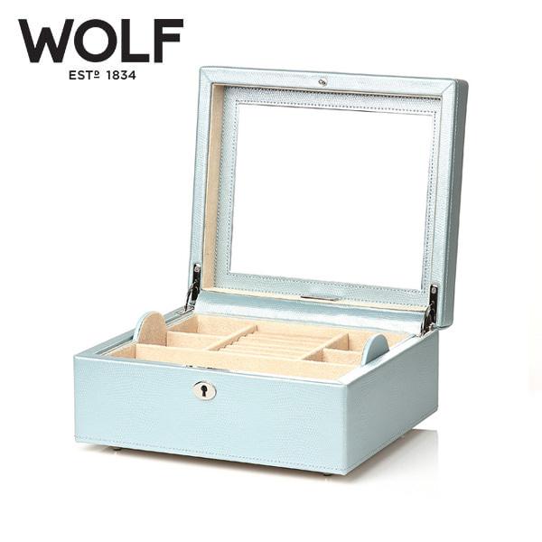 [울프 WOLF] 315224 (London Square Box Ice) / 보석함 Jewel Box