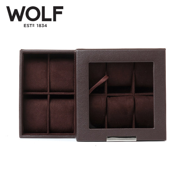 [울프 WOLF] 319606 (Stackables Watch Tray Set 2 x) / 시계보관함 Watch Cubbyhole