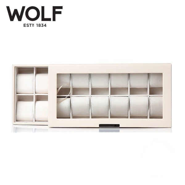 [울프 WOLF] 319753 (Stackables Watch Tray Set 2 x) / 시계보관함 Watch Cubbyhole