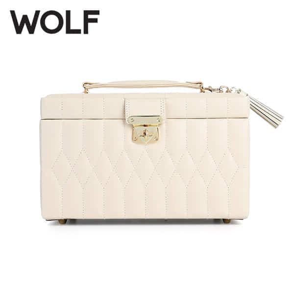 [울프 WOLF] 329753 (Caroline Medium Box Ivory) / 보석함 Jewel Box